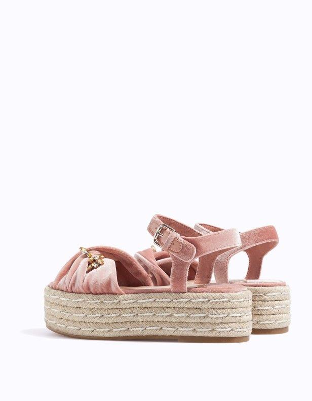 sandales flatform